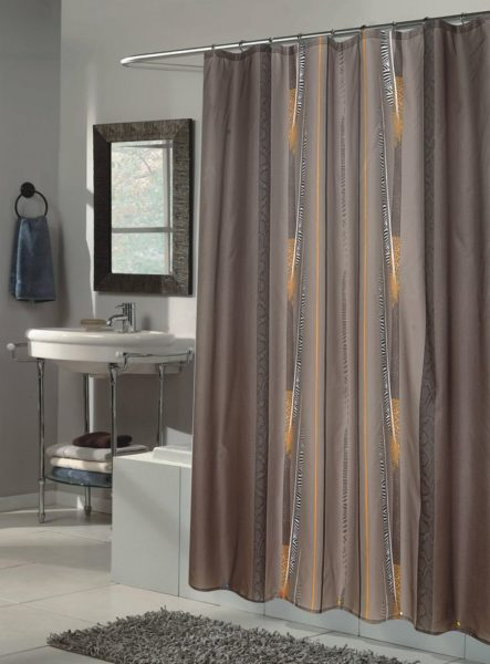 shower curtain bathroom ideas