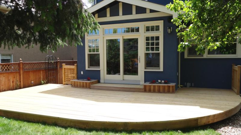 stone deck skirting ideas