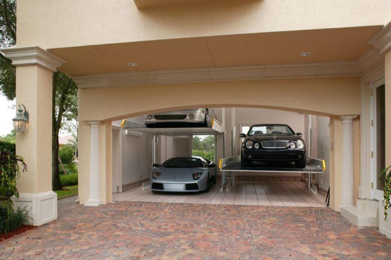 garage exterior wall design ideas