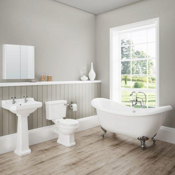grey bathroom shower ideas