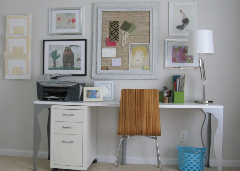 cork board ideas with fabric