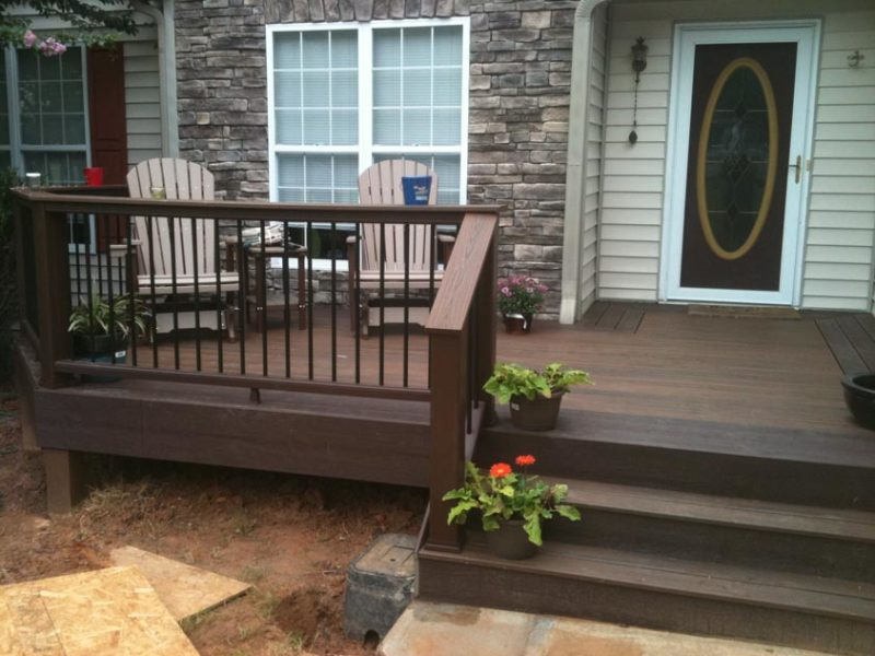 houzz small deck ideas