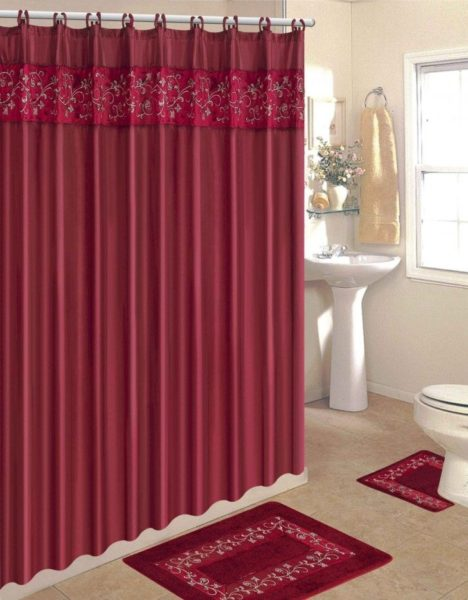 shower curtain ideas for slanted ceiling