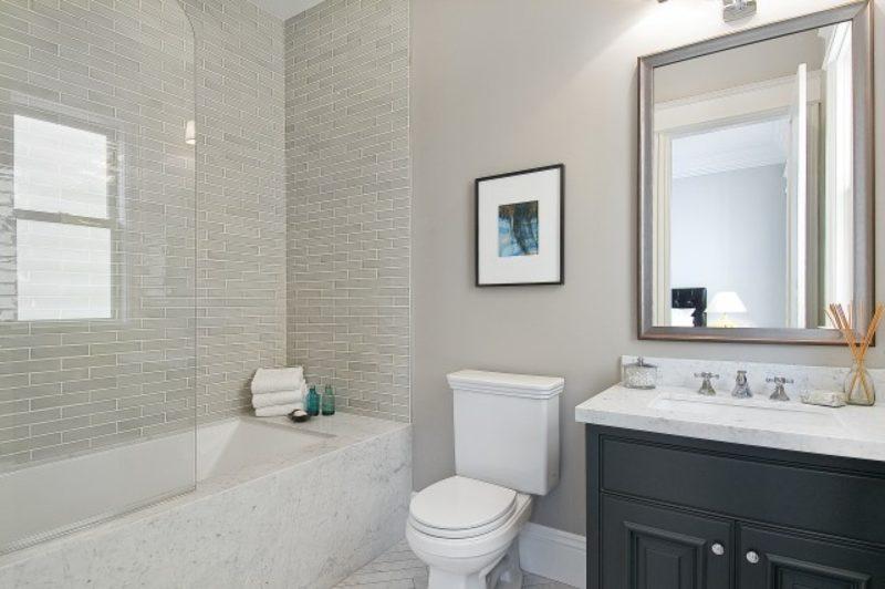 grey bathroom fixtures ideas