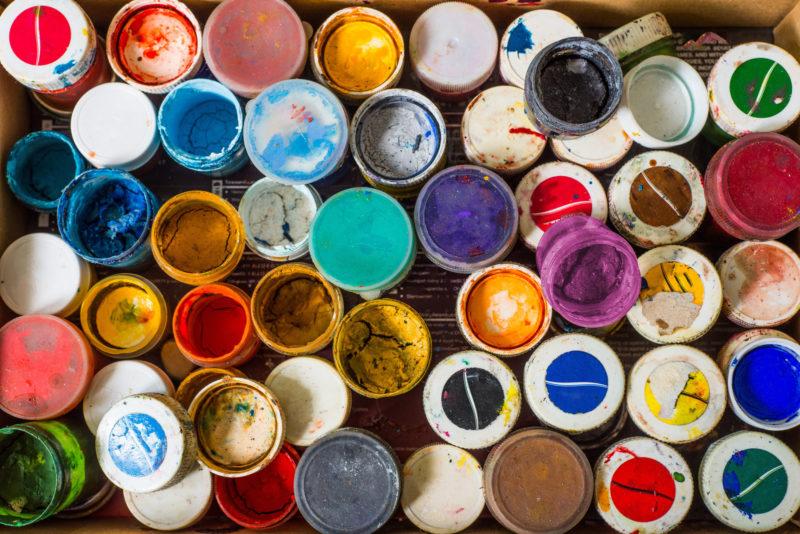 ideas for garage paint colors