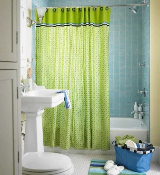 extra long shower curtain ideas