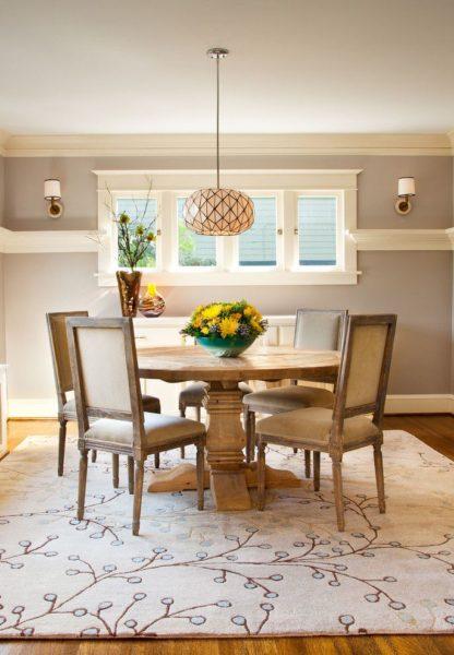 chair rail molding ideas living room