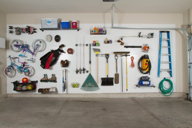 interior garage wall finishing ideas