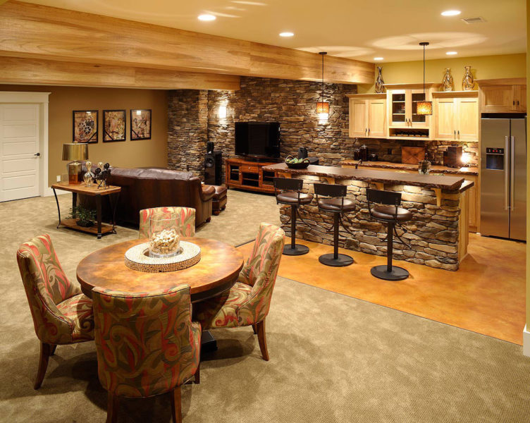 small basement makeover ideas