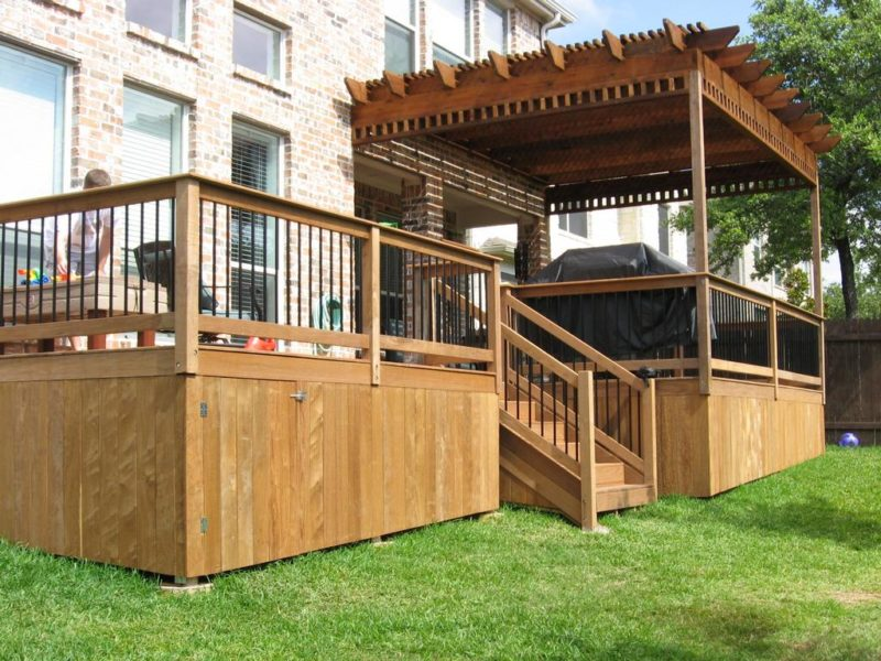 deck skirting designs