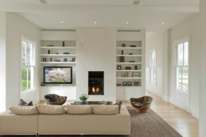 fireplace ideas tile glass