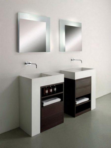 bathroom mirror decorating ideas