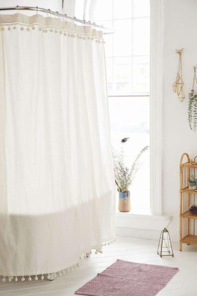 spa shower curtain ideas