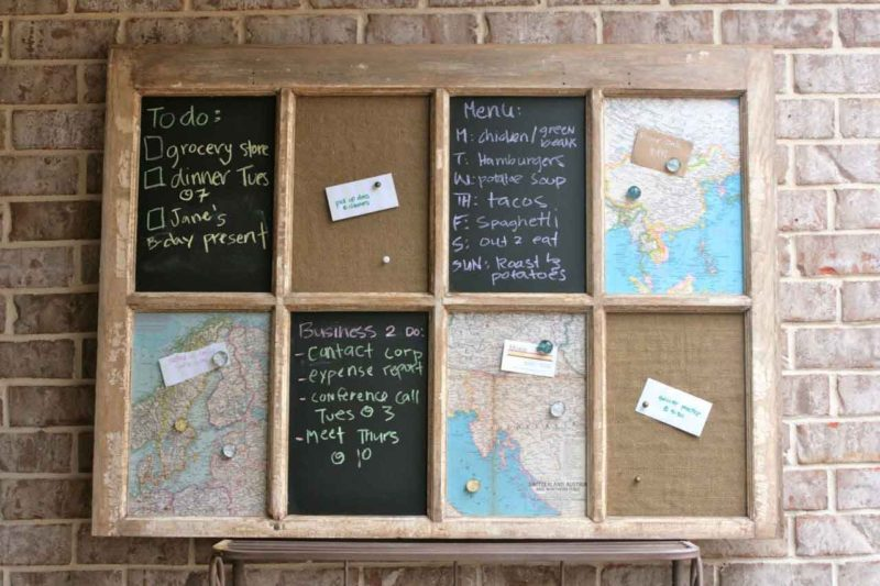 cork board art ideas