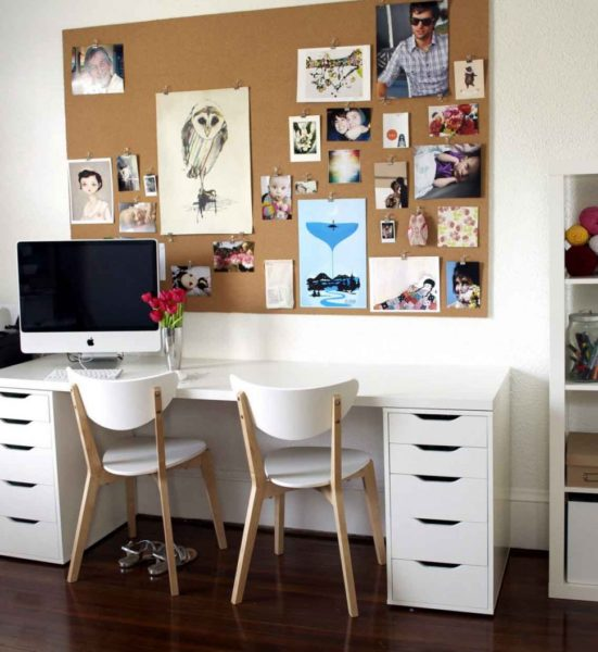 cork board tiles ideas