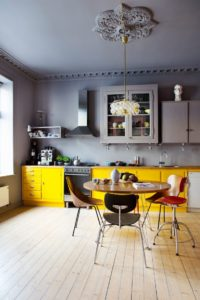 Bright Yellows and also Metal
