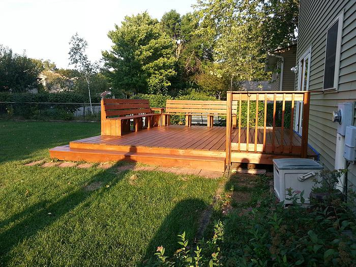 small garden decking ideas on a budget
