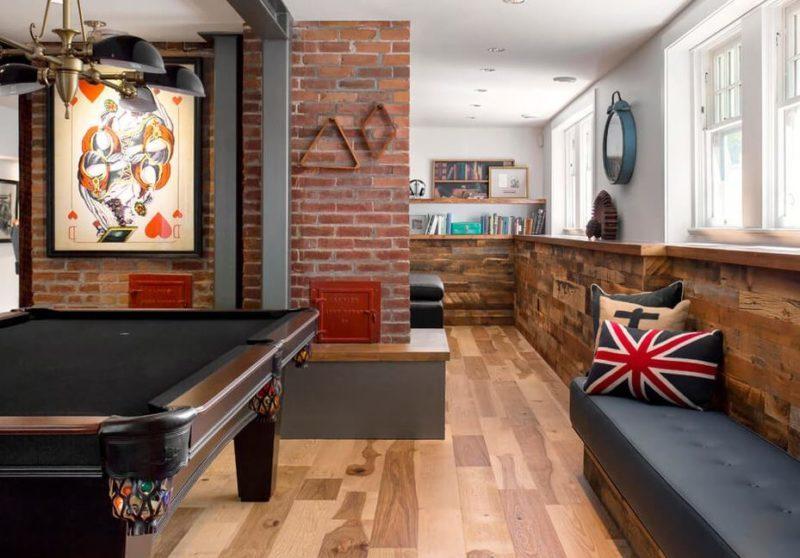 rec room ideas basement