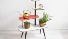 Mid Century Modern Plant Stands