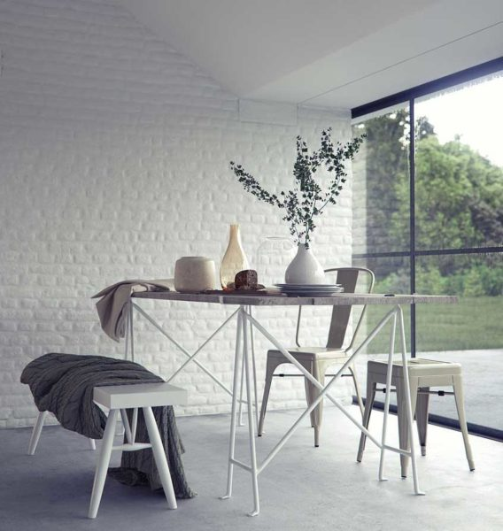 brick wall color ideas