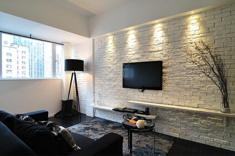 brick wall treatment ideas
