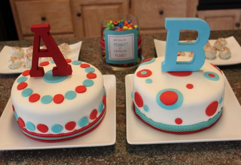 food ideas for a gender reveal party