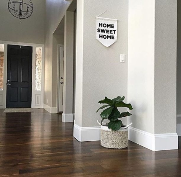 wood baseboard trim styles